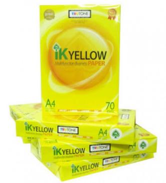 IK Yellow (Indah Kiat) A4 paper 70 gsm 500 Sheets