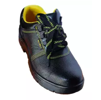Welwolf Safety Shoes Black Low Cut with Steel Cap and Steel Sole Safety Boots